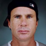 Chad Smith wearing black baseball cap