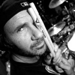 Chad Smith drum sticks by face