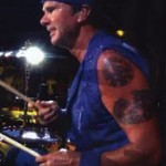 Chad Smith playing drums