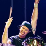 Chad Smith playing drums victory wave