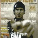 Chad Smith on cover of Drummer Magazine