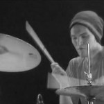 Josh Klinghoffer playing drums