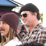 Chad Smith & Anthony Kiedis at RHCP book signing at The Grove, LA