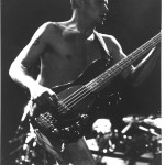 red hot chili peppers flea photo gallery RHCP black white