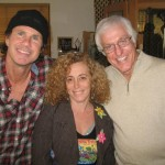 chad smith with unknown people