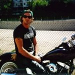 chad smith riding motorcycle