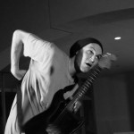 RHCP: Josh Klinghoffer playing guitar