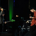 RHCP: Josh Klinghoffer & Anthony Kiedis perform at Neil Young concert