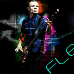 Flea fanart wallpaper red hot chili peppers