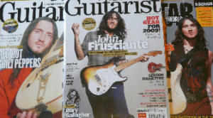 RHCP Magazine scans and articles John Frusciante guitarist Red Hot Chili Peppers