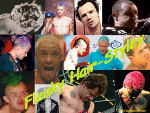 RHCP Flea hair styles Red Hot Chili Peppers