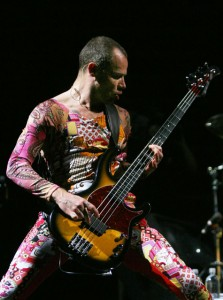 Flea Sunburst Modulus Bass