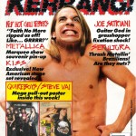 Kerrang 292 Anthony Kiedis RHCP cover