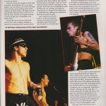 Review of RHCP at Roselands Ballroom in New York Anthony Kiedis, Flea and John Frusicante