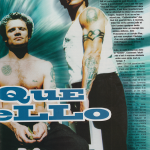 French interview with Flea & John Frusciante Photo of Flea and Anthony Kiedis