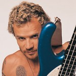 Red Hot Chili Peppers Flea with blue modulus