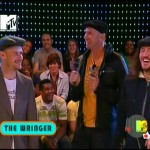 RHCP MTV Total Request Live Chad Smith inteviewing Flea