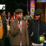 RHCP MTV Total Request Live Flea with mic