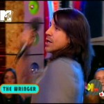 RHCP MTV Total Request Live Anthony Kiedis with mic