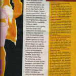 Red Hot Chili Peppers Brazil Capricho magazine interview