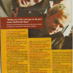 Red Hot Chili Peppers Brazil Capricho magazine interview RHCP photo