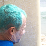 best photo turquoise hair Flea Surfrider September 2010 TheChiliSource RHCP