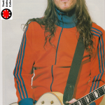 happy birthday John Frusciante March 5 magazine scan collection