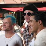 red hot chili peppers chad smith mario Extra TV show Grove