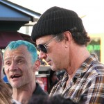 red hot chili peppers chad smith Extra TV show Grove