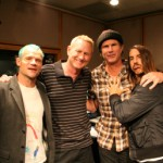 red hot chili peppers KROQ radio show
