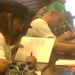 Barnes Noble Red Hot Chili Peppers Mullen booksigning Kiedis signature