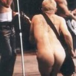 flea RHCP bare bum in camera