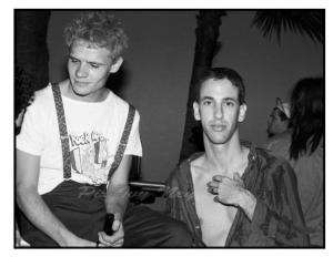 Hillel Slovak and Flea RHCP
