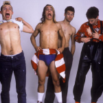 hillel Slovak 50 birthday memorial rhcp holding clothes up