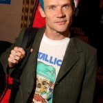 Flea bassist Red Hot Chili Peppers intense