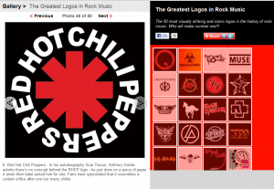 Red Hot Chili Peppers asterisk logo greatest