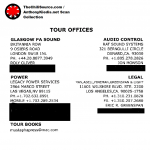 Red Hot Chili Peppers Tour personnel information 2007