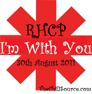 I'm with you new Red Hot Chili Peppers album 8 30 2011