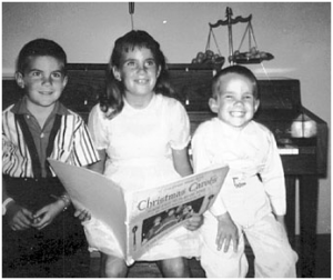 chad smither drummer RHCP child with brother and sister