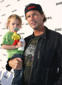 chad smith drummer RHCP child