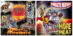 chad smith's bombastic meatbats meat the meatbats  chad smith's bombastic meatbats more meat