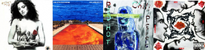 red hot chili peppers studio albums