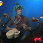 Chad Smith drummer RHCP octopus for Fishy video