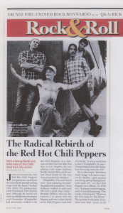 red hot chili peppers I'm with you anthony Kiedis Josh Klinghoffer Flea Chad Smith