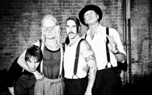 Red Hot Chili Peppers photo of new line up with Josn Klinghoffer