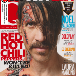 Anthony Kiedis Red Hot Chili Peppers magazine cover