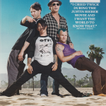 Red Hot Chili Peppers new line up Josh Klinghoffer, Flea, Anthony Kiedis & Chad Smith on the beach