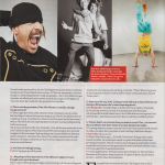 Red Hot Chili Peppers magazine interview Anthony Kiedis Flea