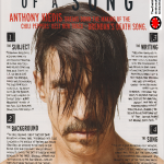 Red Hot Chili Peppers magazine interview Anthony Kiedis Brendan's Death Song meaning & explanation