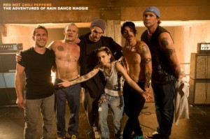 Red Hot Chili Peppers Adventures of rain dance maggie video photo